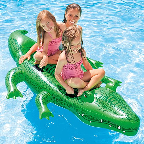 Intex Giant Gator Ride-On, 80' X 45', for Ages 3+