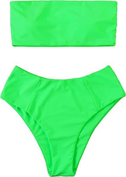 neon green bikini suited for all body types