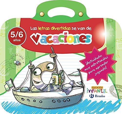 Las letras divertidas se van de vacaciones 5 años (Castellano - Material Complementario - Vacaciones Educación Infantil) - 9788469613542