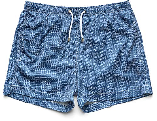 61wkN1hTJ2L Slim Italian fit, wear one size larger than usual Straight leg, mid-rise style $5 donated to Coral Reef Alliance for every pair sold