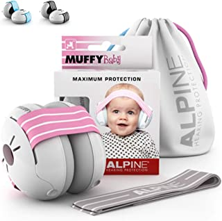 Alpine Muffy Baby Ear Protection for Newborn and Babies up to 36 Months – Noise..