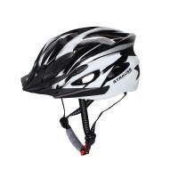 Strauss Cycling Helmet White Black