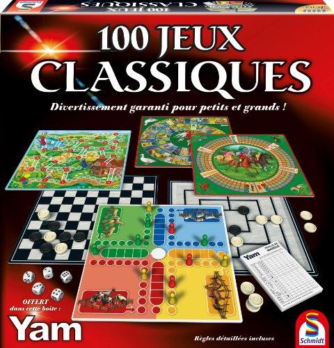 Schmidt - 88207 - Malette de Jeu - 100 Jeux Classiques