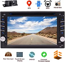 EINCAR Bluetooth Car Stereo System CD DVD Player with 6.2 Inch Capacitive Touch Screen in..