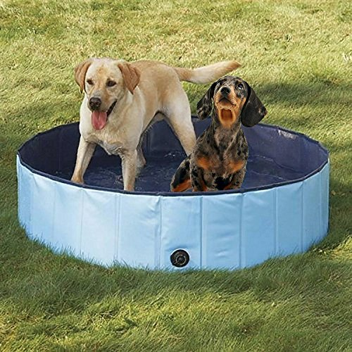 Dog Bathtub, PYRUS 63 x 11.8 Inches Collapsible...