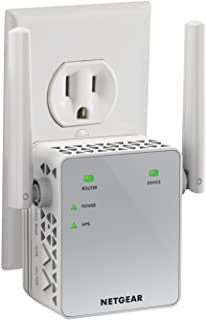 NETGEAR Wi-Fi Range Extender EX3700 – Coverage Up to 1000 Sq Ft and 15 Devices with..