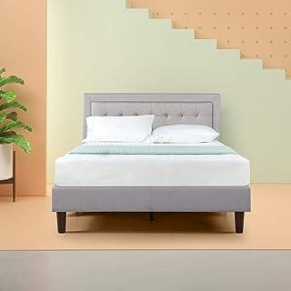 Zinus Dachelle Upholstered Platform Bed Frame / Mattress Foundation / Wood Slat Support /..