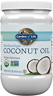 Garden of Life Organic Extra Virgin Coconut Oil – Untagined Cold Pressed Plant..