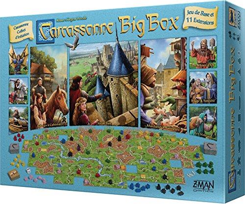 Carcassonne Big Box - Asmodee - Jeu de société - Jeu de tuiles