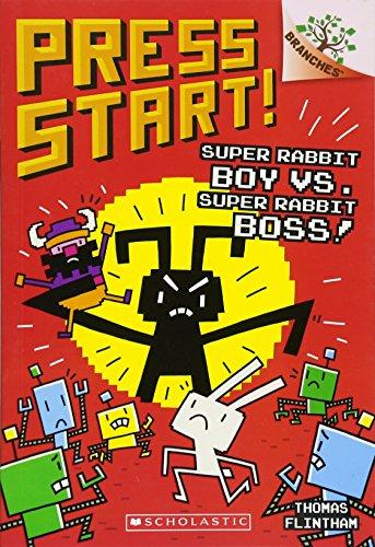 Super Rabbit Boy vs. Super Rabbit Boss!: A Branches Book (Press Start! #4) (4)