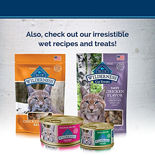 Blue Buffalo Wilderness High Protein, Natural Adult Weight Control Dry Cat Food, Chicken 11-lb 4