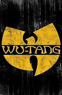 Pyramid America Wu Tang Clan Logo Music Cool Wall Decor Art Print Poster 24×36