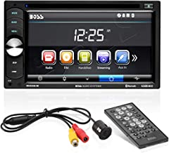 Boss Audio Systems BVB9351RC Car DVD Player with Backup Rearview Camera – Double..