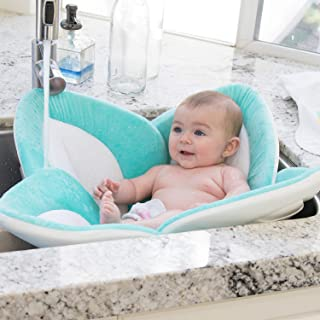Blooming Bath Lotus – Baby Bath (Seafoam/White/Gray)
