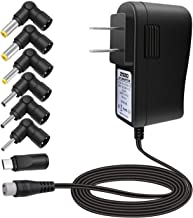 ZOZO 10W 5V2a (2000mA) Multi Tip Switching Replacement AC Power Adapter Wall Charger for..