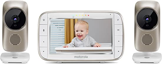 """Motorola MBP845CONNECT-2 5"""" Video Baby Monitor with Wi-Fi Viewing, 2 Cameras,.."""