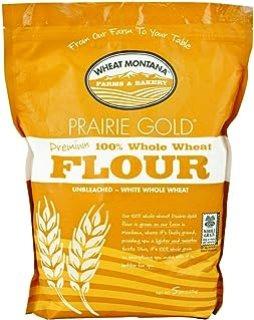 Wheat Montana Prairie Gold 100% Whole Wheat Flour, 5 Lb. Bag
