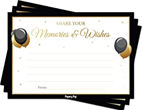 Share your Memories and Wishes (50 Cards Pack) – Any Occasion – Graduation..