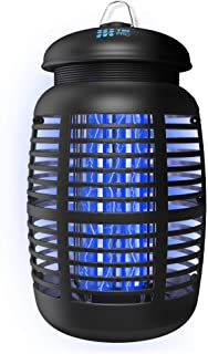 [2-in-1] Bug Zapper & Attractant – Effective 4000V Electric Mosquito..