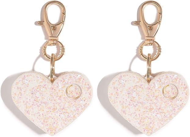 cute safe alarms key chain alarm heart shaped
