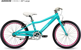 Guardian Kids Bikes Original. 16 20 24 Inch Multiple Colors for Boys Girls. Safer Brake System for Kids. Lightweight Aluminum Construction. Easy Assembly. ASO SharkTank.
