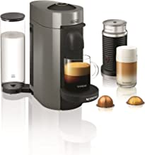 Nespresso by De'Longhi ENV150GYAE VertuoPlus Coffee and Espresso Machine Bundle with..