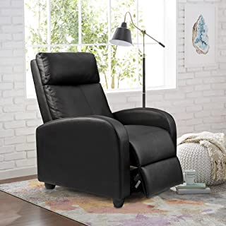 Homall Recliner Chair Padded Seat PU Leather for Living Room Single Sofa Recliner Modern..