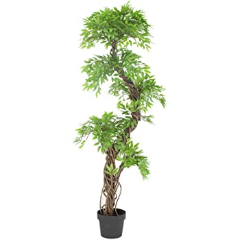 Luxury Artificial Japanese Fruticosa Tree Stylish Replica Indoor Tree Plant 165cm Tall Amazon Co Uk Kitchen Home
