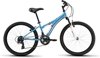 Diamondback Bicycles Tess 24 Youth Girls 24 Wheel Mountain Bike Blue