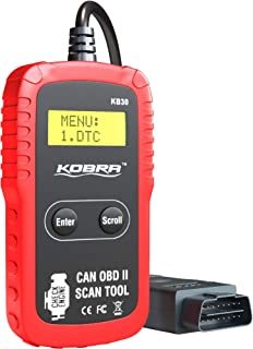 Kobra Newest Version OBD2 Scanner Car Code Reader – Universal Auto OBD Car..