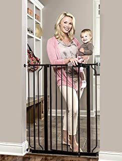 Regalo Easy Step Extra Tall Walk Thru Baby Gate, Bonus Kit, Includes 4-Inch Extension..