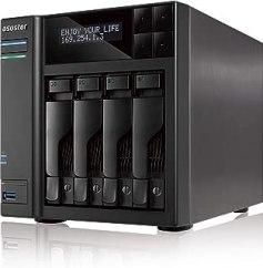 ASUSTOR AS7004T | INTEL 3.5G Dual-Core High-Performance NAS (4 Bay Diskness NAS)
