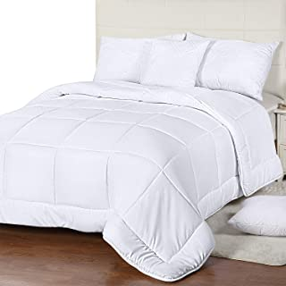 Utopia Bedding All Season Down Alternative Quilted Comforter Queen – Queen Duvet..