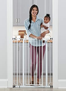 Regalo Easy Step Extra Tall Walk Thru Baby Gate, Includes 4-Inch Extension Kit, 4 Pack of..
