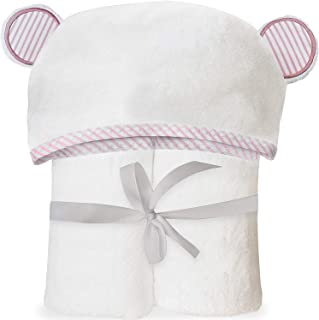 Ultra Soft Bamboo Hooded Baby Towel – Hooded Bath Towels with Ears for Babies,..
