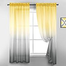 Amazon Com Grey Yellow Bedroom Decor