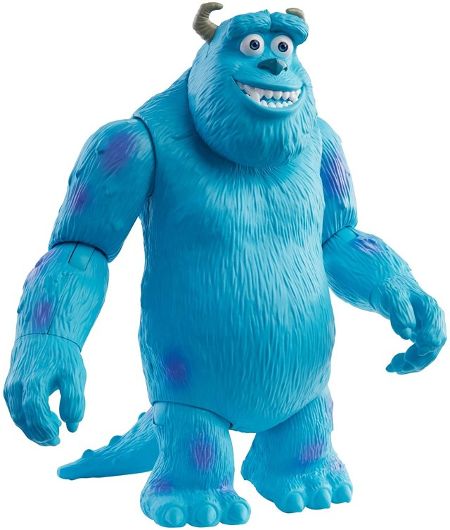 Pixar Sulley Figure True to Movie Scale Character Action Doll Highly  Posable with Authentic Costumes for Storytelling, Collecting, Monsters,  Inc. Toys