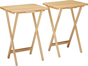 Winsome Alex 2-pc Set TV Table, Natural