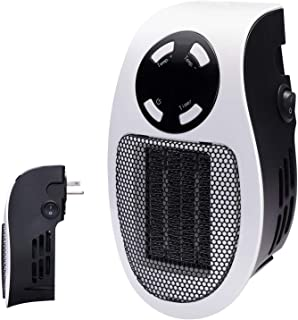 Brightown 350W Space Heater, Programmable Wall Outlet Space Heater As Seen on TV with..