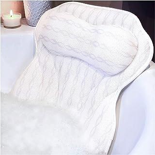 Luxury Bath Pillow Bathtub Pillow :: Doctor Recommended Ergonomic Bath Pillows for Tub..