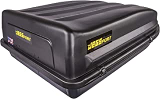 JEGS Rooftop Cargo Carrier | Hard Car Top Large Luggage Box | Waterproof Storage | Heavy..