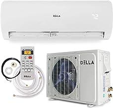 Della 12000 BTU Mini Split Air Conditioner Ductless Inverter System 17 SEER 115V with 1..