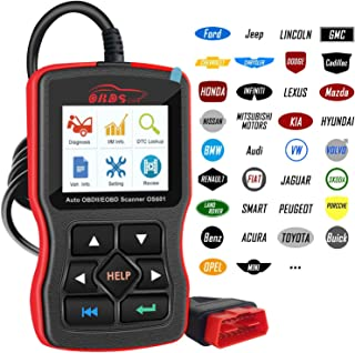 OBDScar OS601 OBD2 Scanner Universal Automotive Engine Fault Code Reader EOBD OBDII CAN..