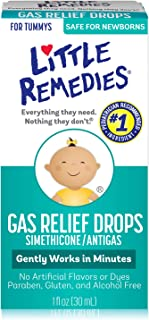 Little Remedies Gas Relief Drops | Natural Berry Flavor | 1 oz. | Pack of 1 | Gently..