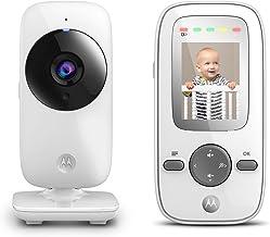 Motorola MBP481 2.4 GHz Digital Video Baby Monitor with 2-Inch Color Display, Digital..