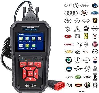 SEEKONE OBD2 Scanner Professional Car OBD II Scanner Auto Diagnostic Fault Code Reader..