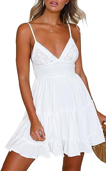 white princess summer boho dress