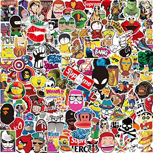 Kit Adesivi [150-PCS] Q-Window Graffiti Stickers Adesivo Decalcomanie per Auto Moto Tuning Bambini...