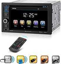 Boss Audio Systems BV9364B Car Stereo DVD Player – Double Din, Bluetooth..