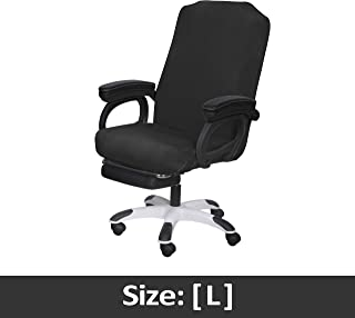 SARAFLORA Office Chair Covers Stretch Washable Computer Chair Slipcovers for Universal..